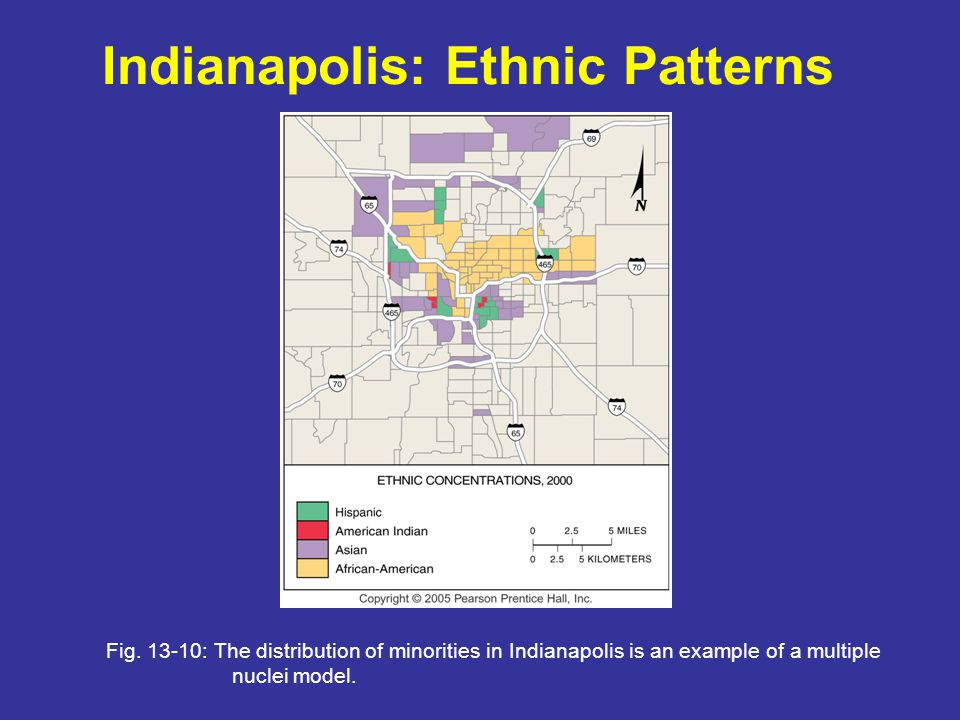 Indianapolis: Ethnic Patterns