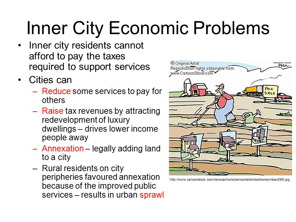problem solvers for an inner city The inner-city problems and solving them - the inner-city problems and solving them there are many problems that can be clearly seen in the inner city problems such as crime, poor housing (perhaps slums), and unemployment are all apparent.