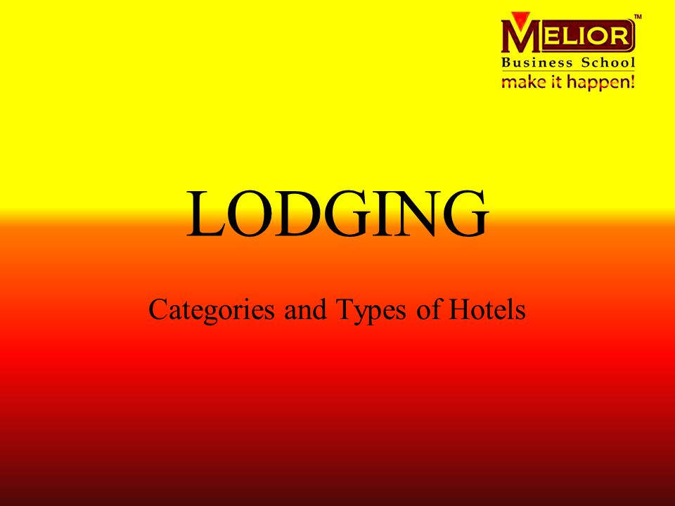 type of lodging accomodation establishment These lodging regulations govern licensed lodging establishments, including hotels kansas lodging establishment regulations type of lodging.