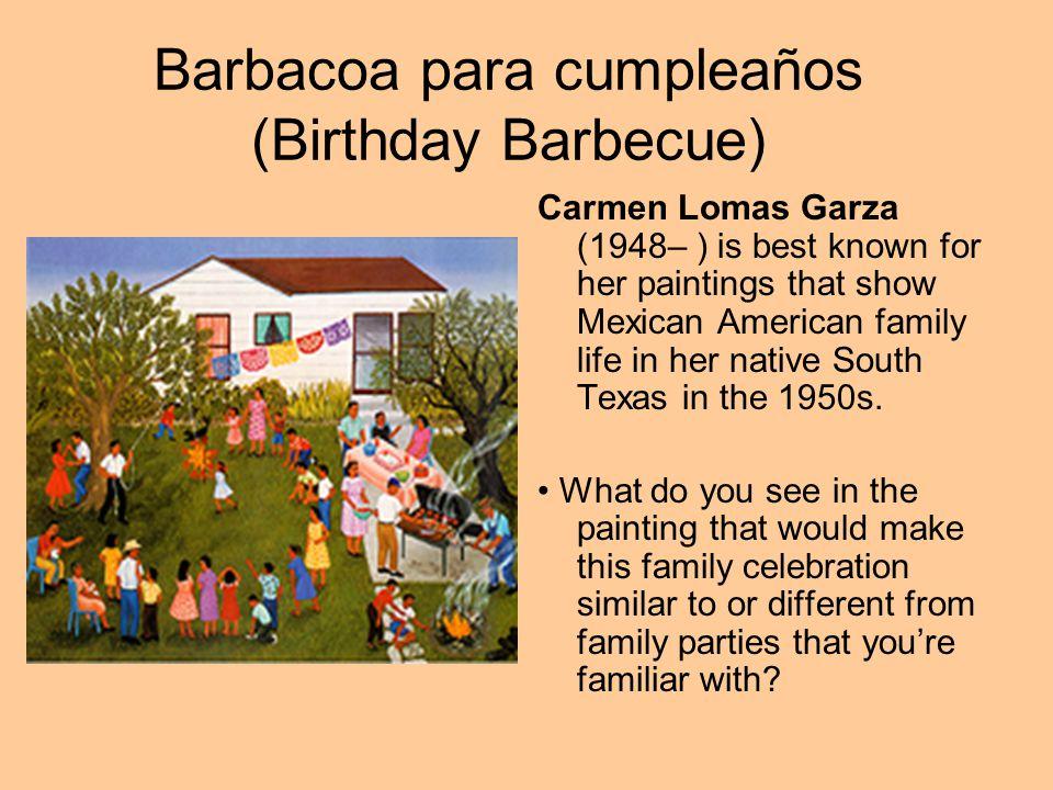 Barbacoa para cumpleaños (Birthday Barbecue)
