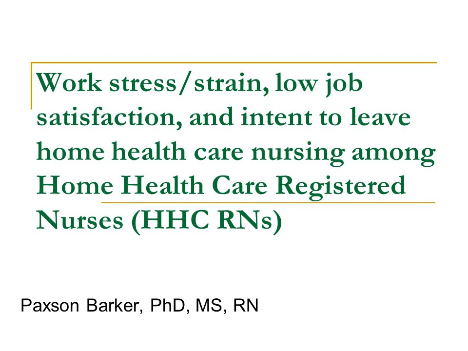 ensuring job satisfaction in healthcare nursing Original article job satisfaction in nurses working in tertiary level job, satisfaction, healthcare also an essential part of ensuring high quality care.
