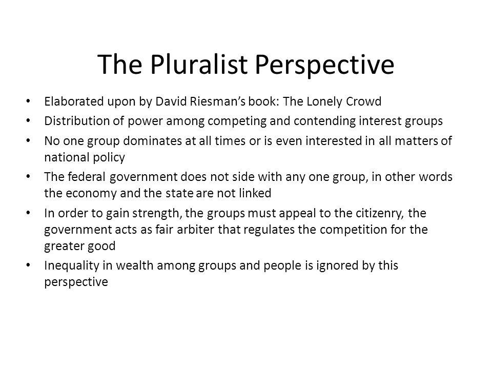 pluralist perspective