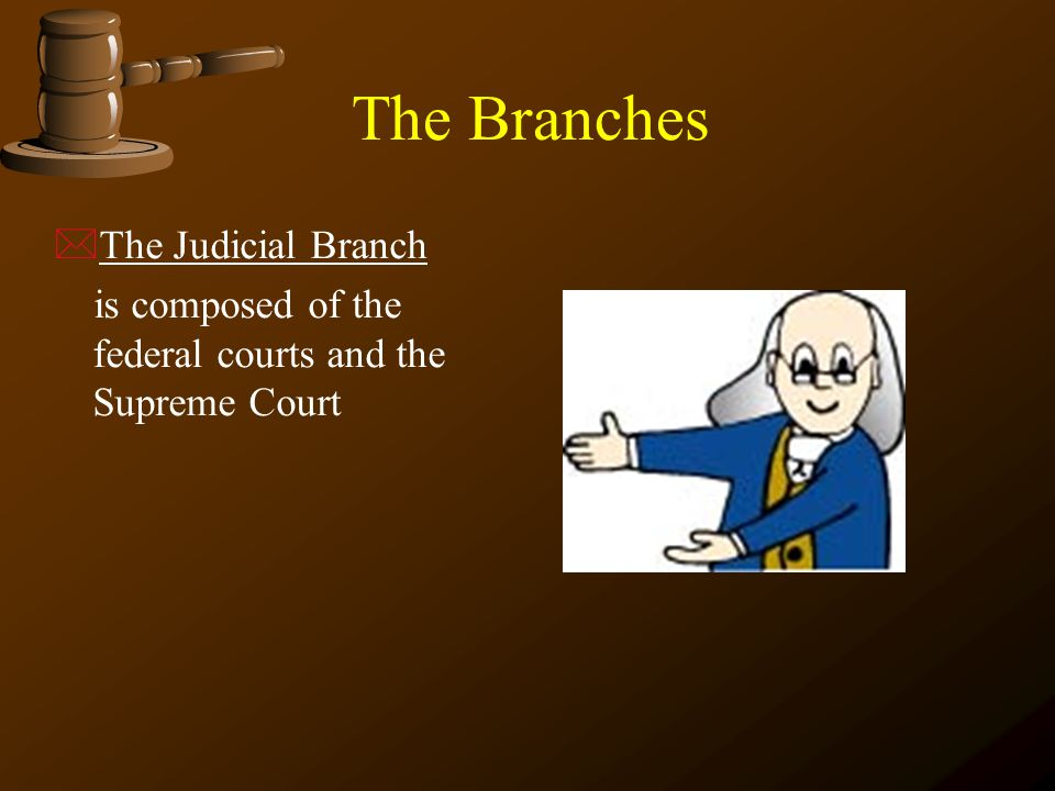 The Branches The Judicial Branch