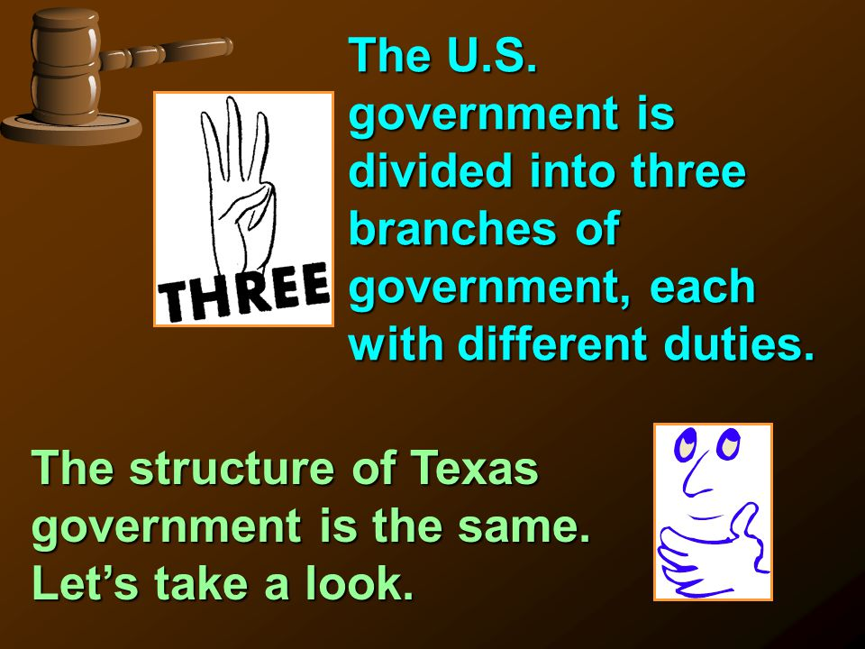 the different functions of the three branches of the government The united states has three branches of government: why are there three separate and distinct branches of government, each with a different function.