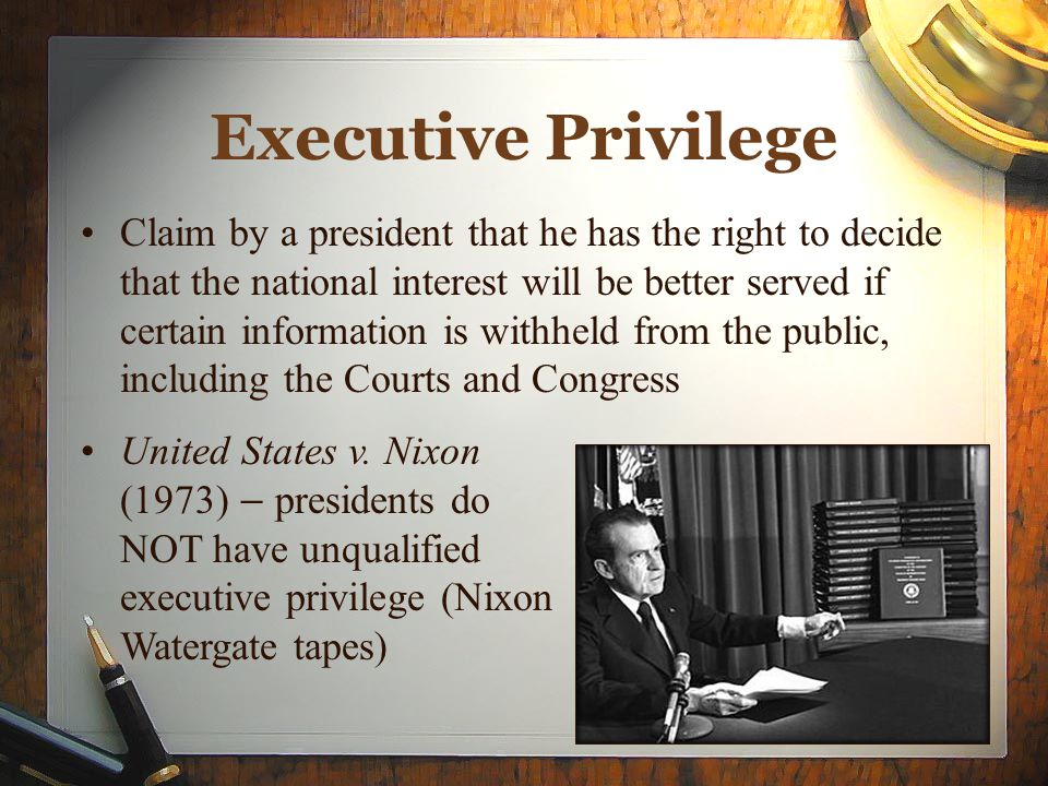 U s president powers and privileges