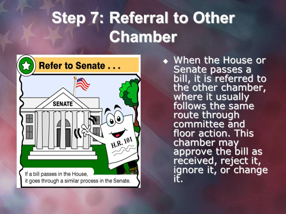 Step 7: Referral to Other Chamber