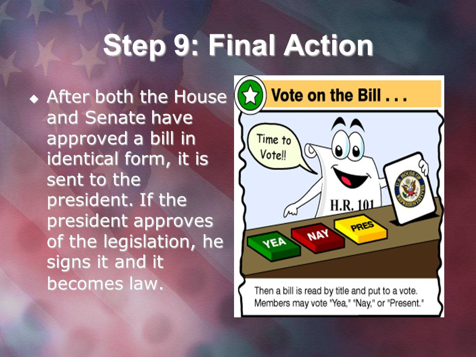 Step 9: Final Action