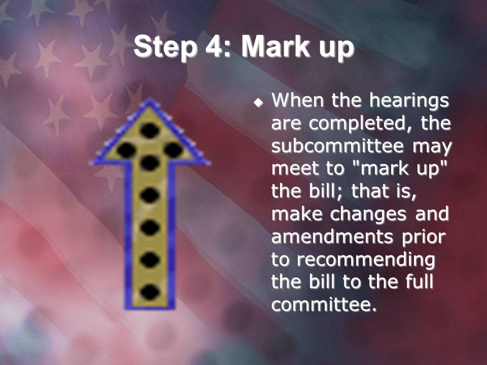 Step 4: Mark up
