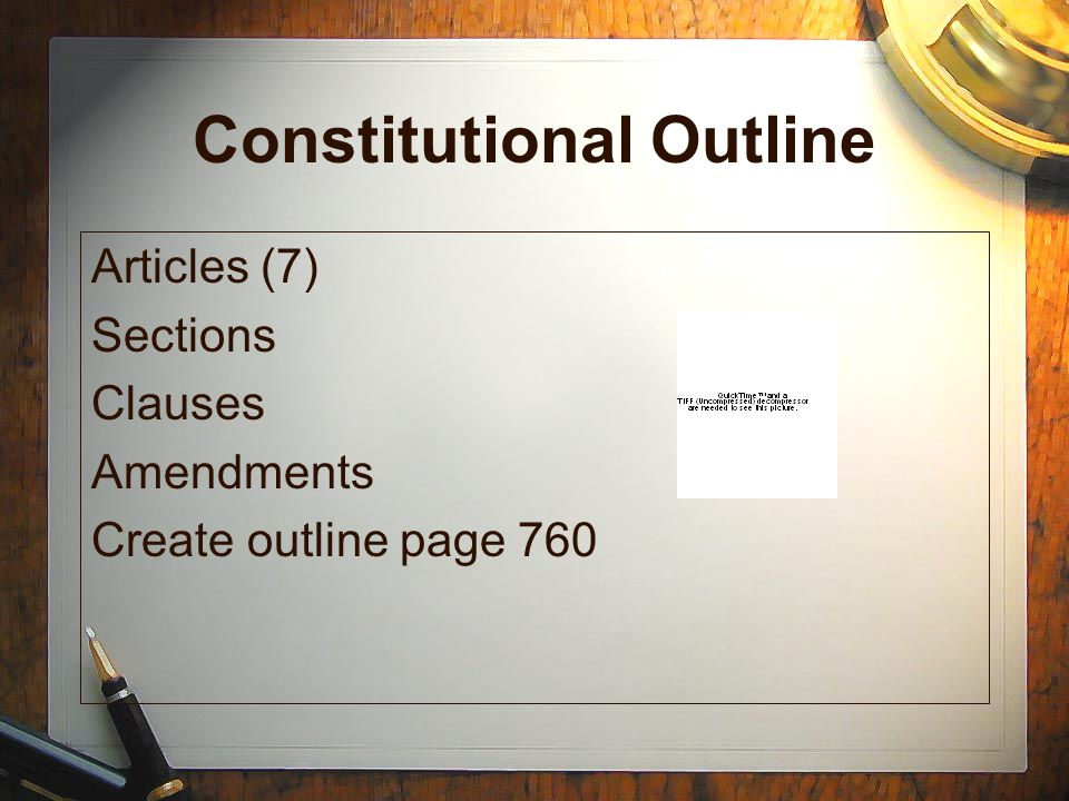 Basic Principles of the Constitution - ppt download
