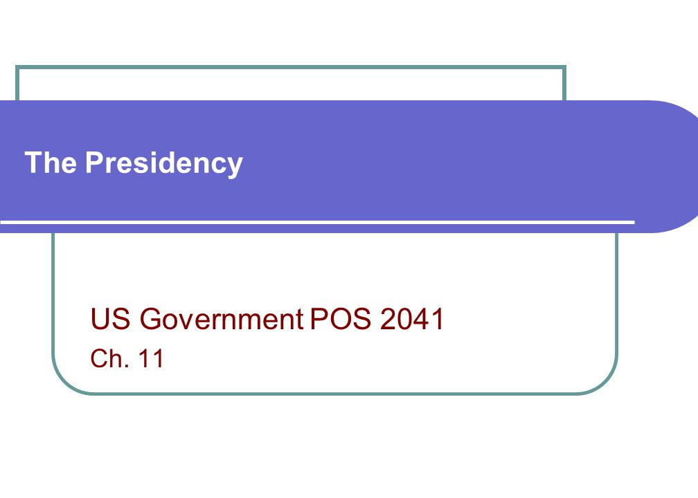 pos 2041 assignment Spring 2015, pos 2041 some weekly assignments will be from the study plan  pos 2041, american federal government.