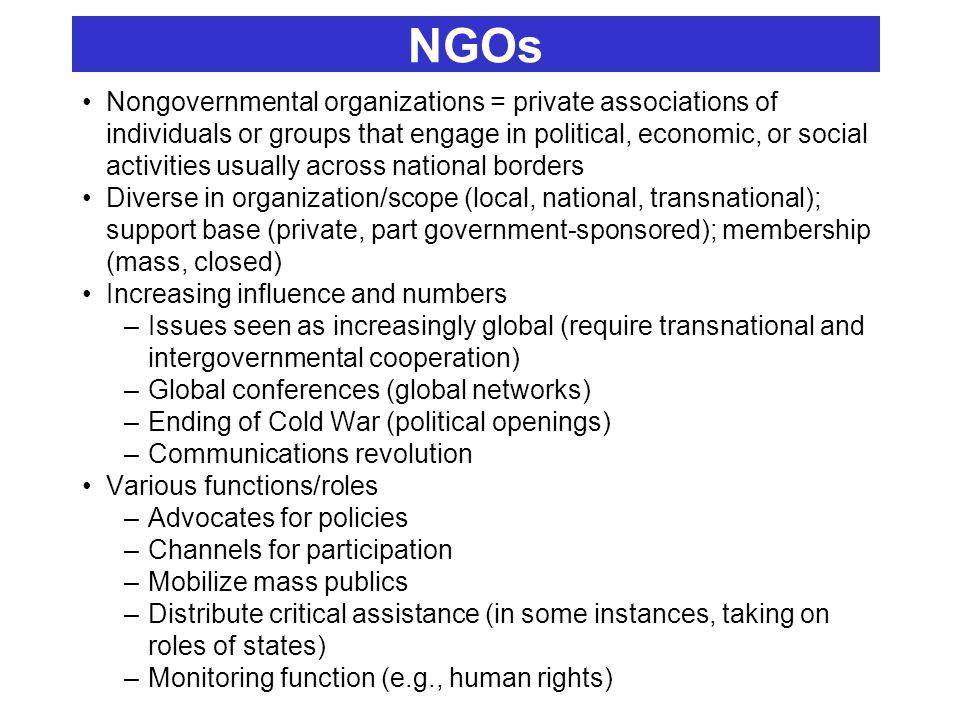 igo and ngo