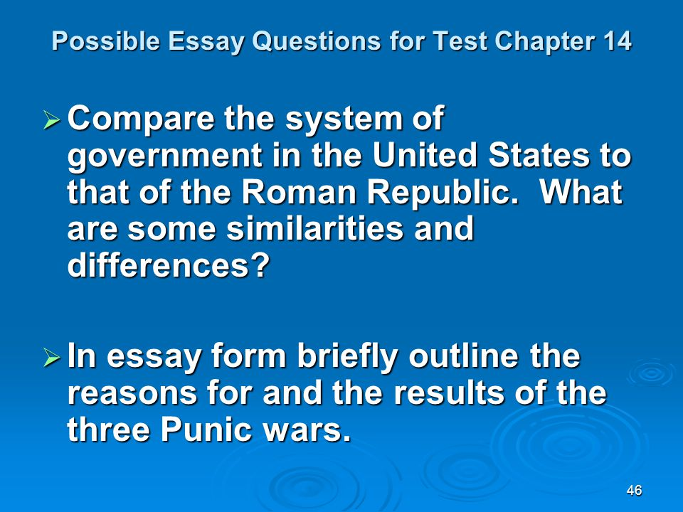 chapter 14 history essay This website contains notes, id's, and videos to aid you in studying for your ap world history course the due dates for homework, quizzes, and tests will be posted.