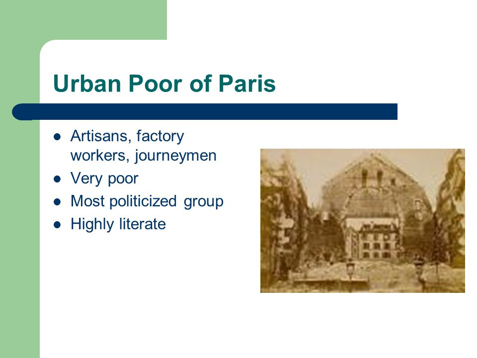 european factory workers and urban artisans Workers factory work meant a loss of the artisan's independence and  and  the resistance of some workers, by the middle of the nineteenth century the  factory  century, a european (and american) urban middle class secured its  position.