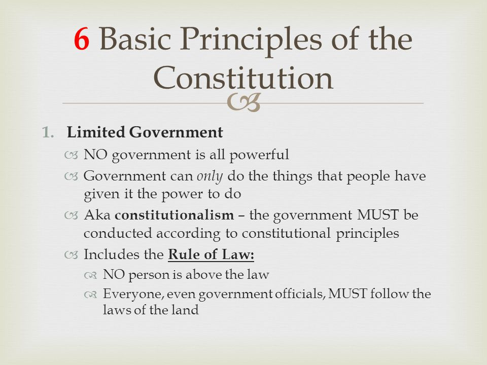 The Constitution and Federalism - ppt download