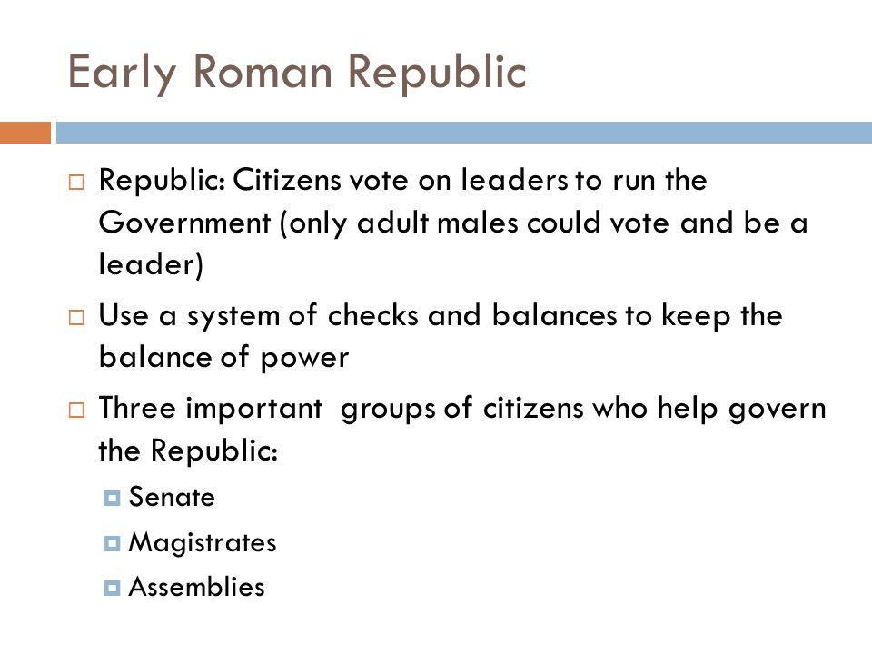 quiz roman republic