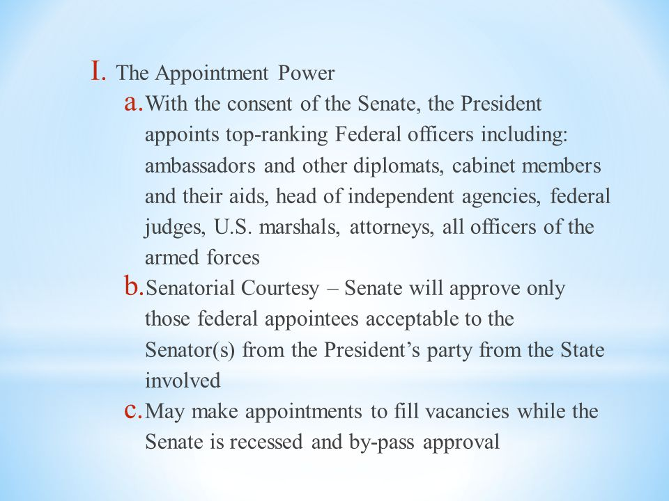 Unit 4 – The Executive Branch - ppt download