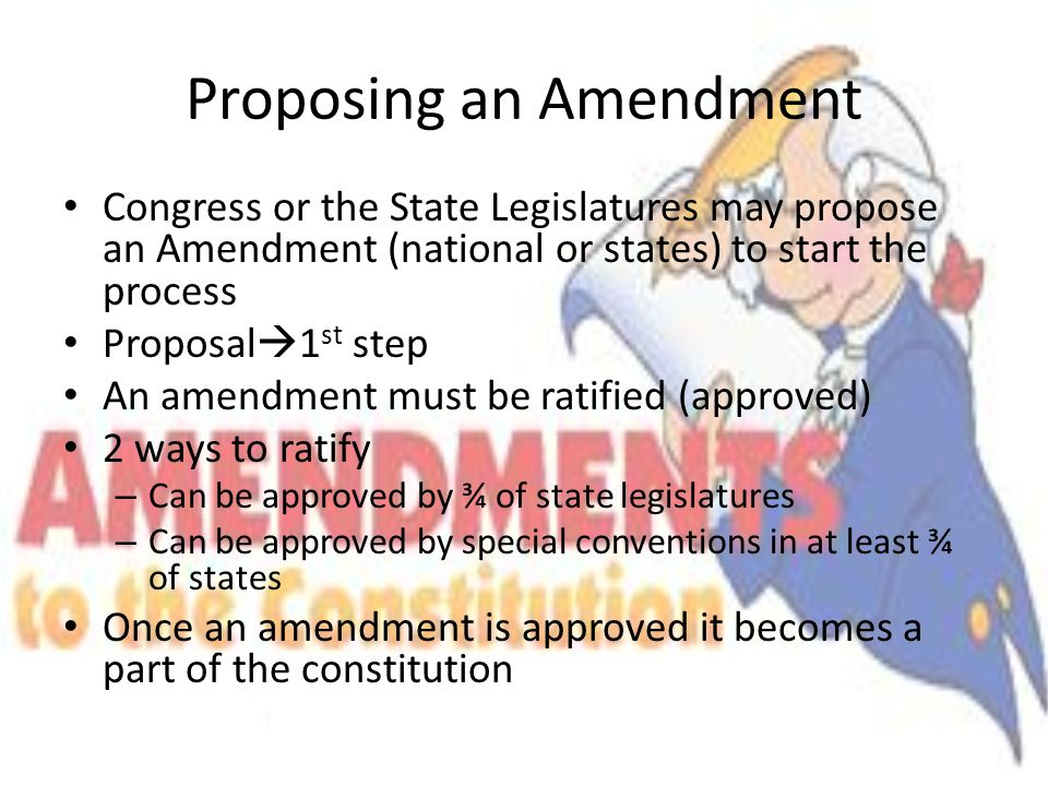 How to Write a Legislative Proposal