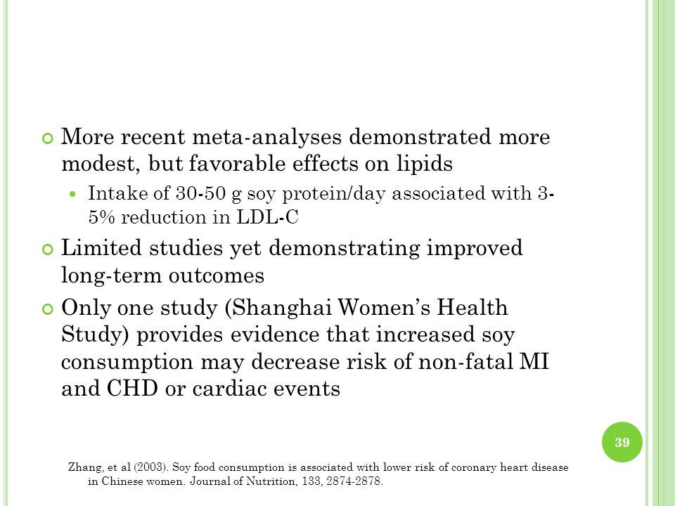 Limited studies yet demonstrating improved long-term outcomes