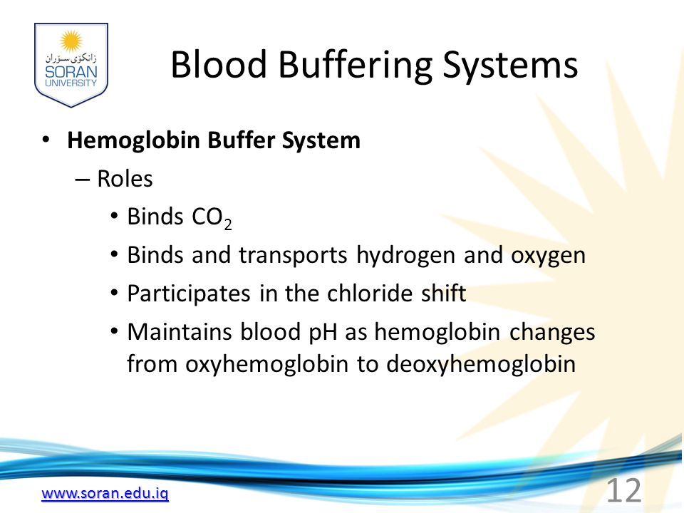 blood buffer