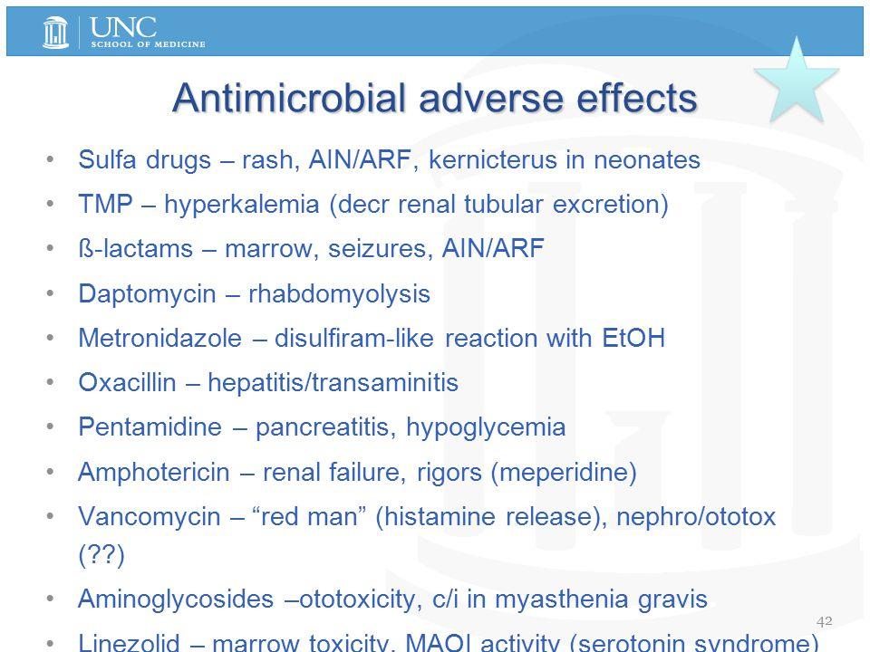Linezolid Side Effects Serotonin Syndrome