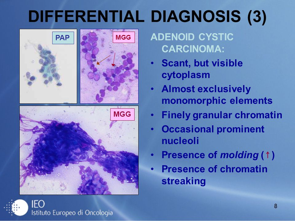 DIFFERENTIAL DIAGNOSIS (3)