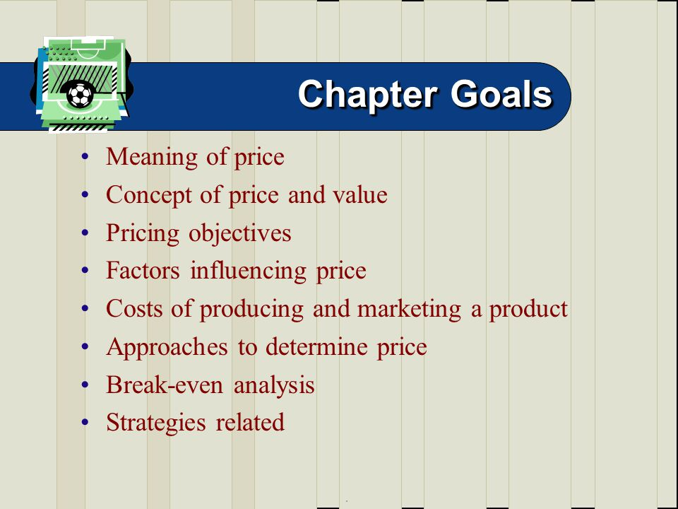 role of price in marketing strategy pdf