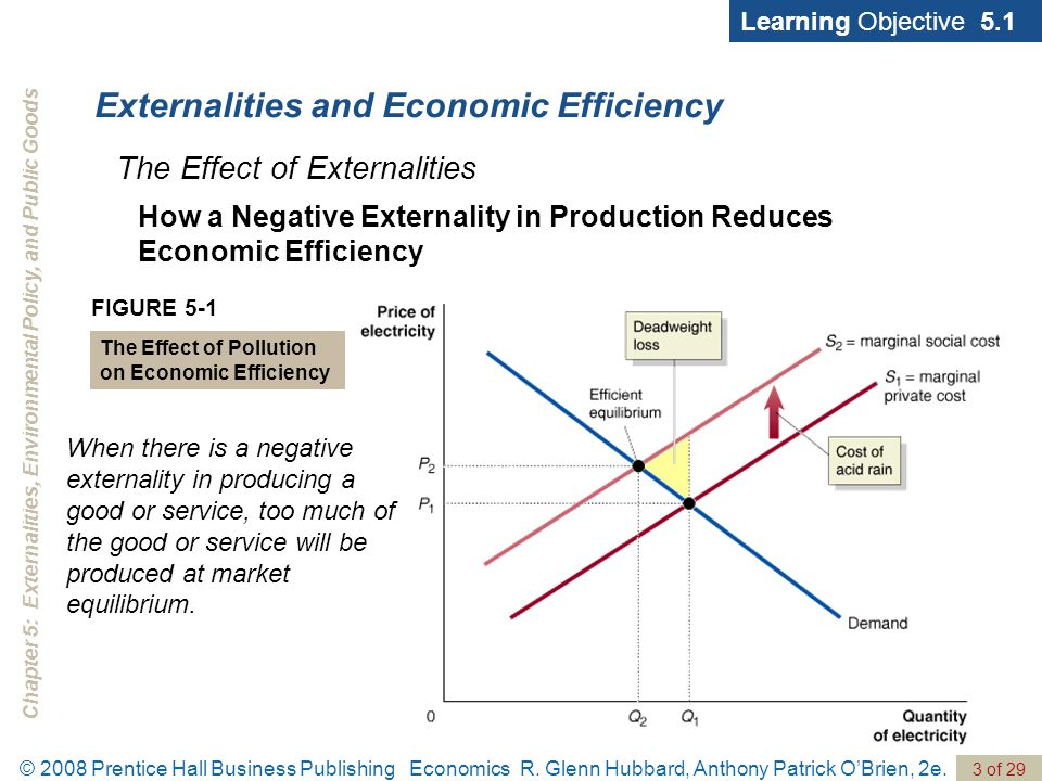 impact of negative externalities in economics Economics of waste management and land cleanup  the negative externalities  economic studies that focus on the negative external effects of solid waste .