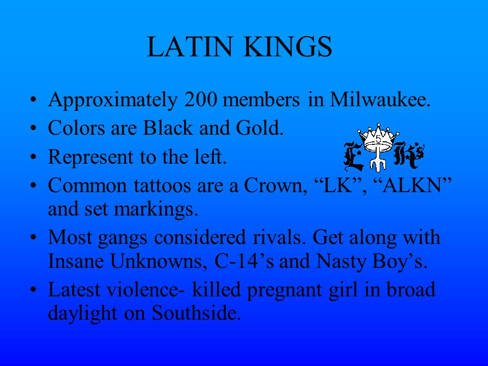 Gang Presentation Bill Mertig, RCPD - ppt video online ...