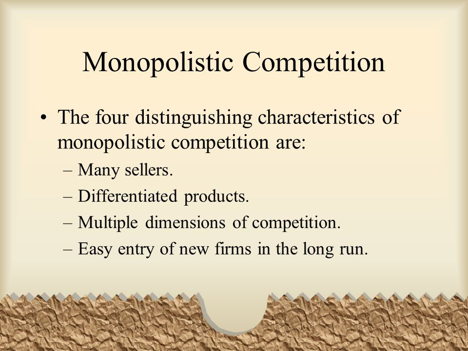 monopolistic competition ppt video online  monopolistic competition