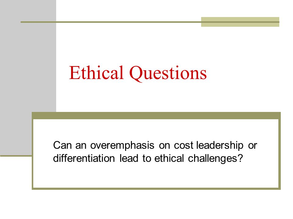 how will ethical issues affect leadership Impact of ethical leadership on employee job performance  ethical leadership is a clarion call to the  significant ethical issues to organisations.