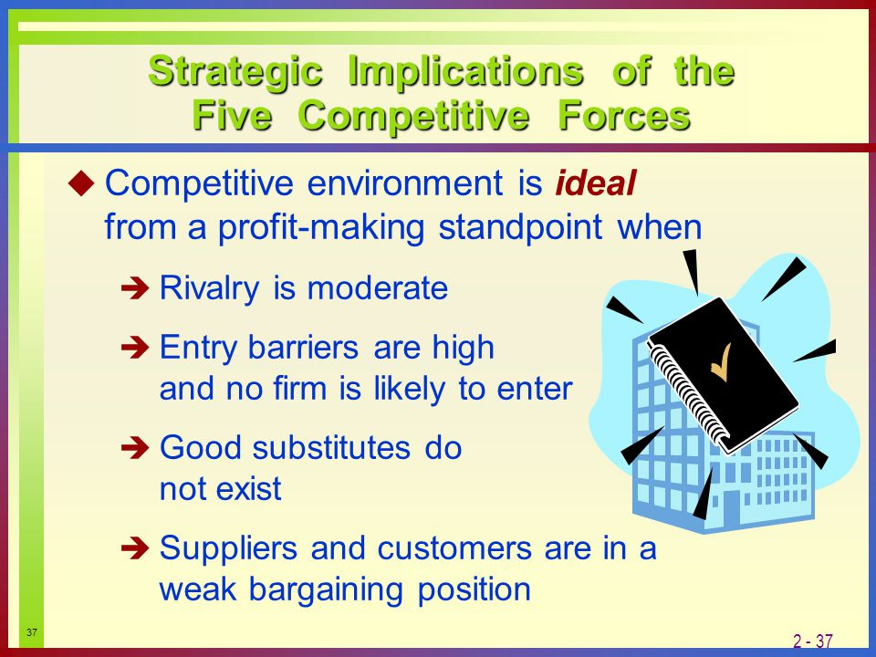 barriers to entry and competitive force 8 examples of barriers to entry and their definition according to porter february 3, 2018 pierre veyrat strategic planning the term barriers to entry is part of the so-called 5 competitive forces by michael porter , used for strategic business planning.