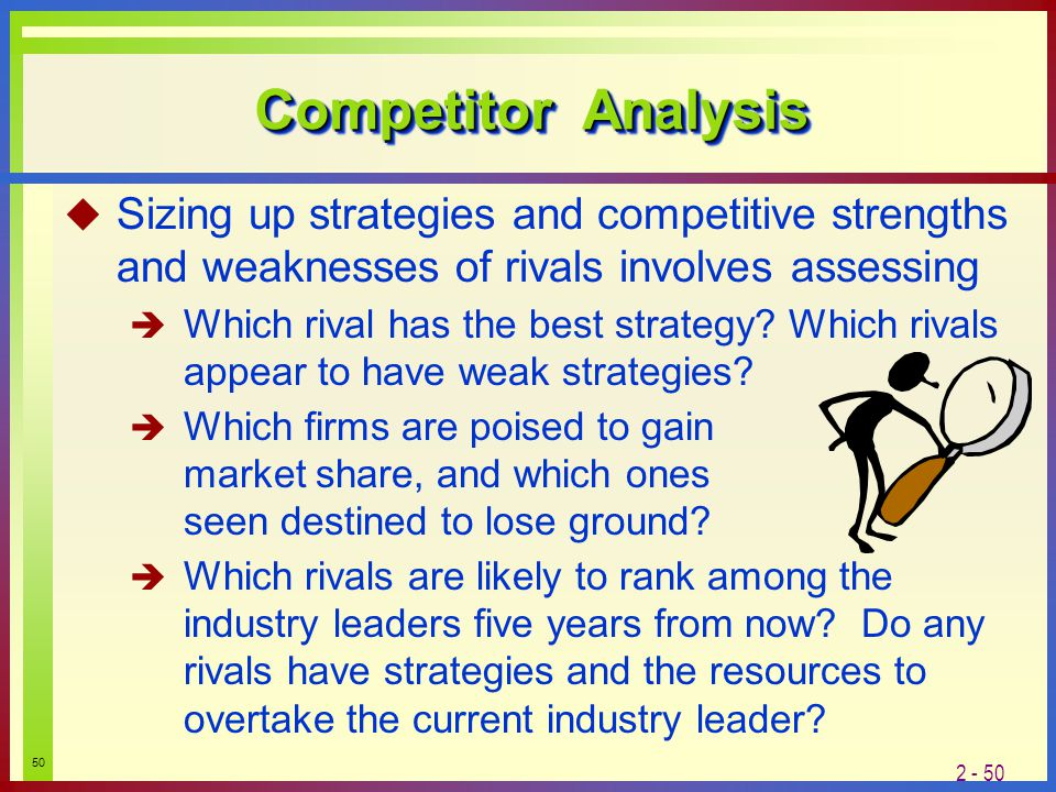 how to accurately assess ones strengths and weaknesses Learn the key steps involved in conducting a swot analysis for  internal strengths (s) and weaknesses  new weaknesses, the fact that the old ones are gone.