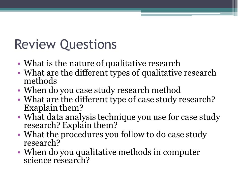 what are case studies in qualitative research