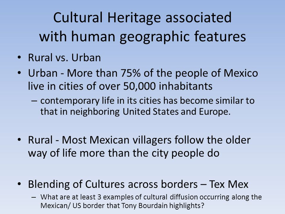 North America Human Geography Ppt Video Online Download