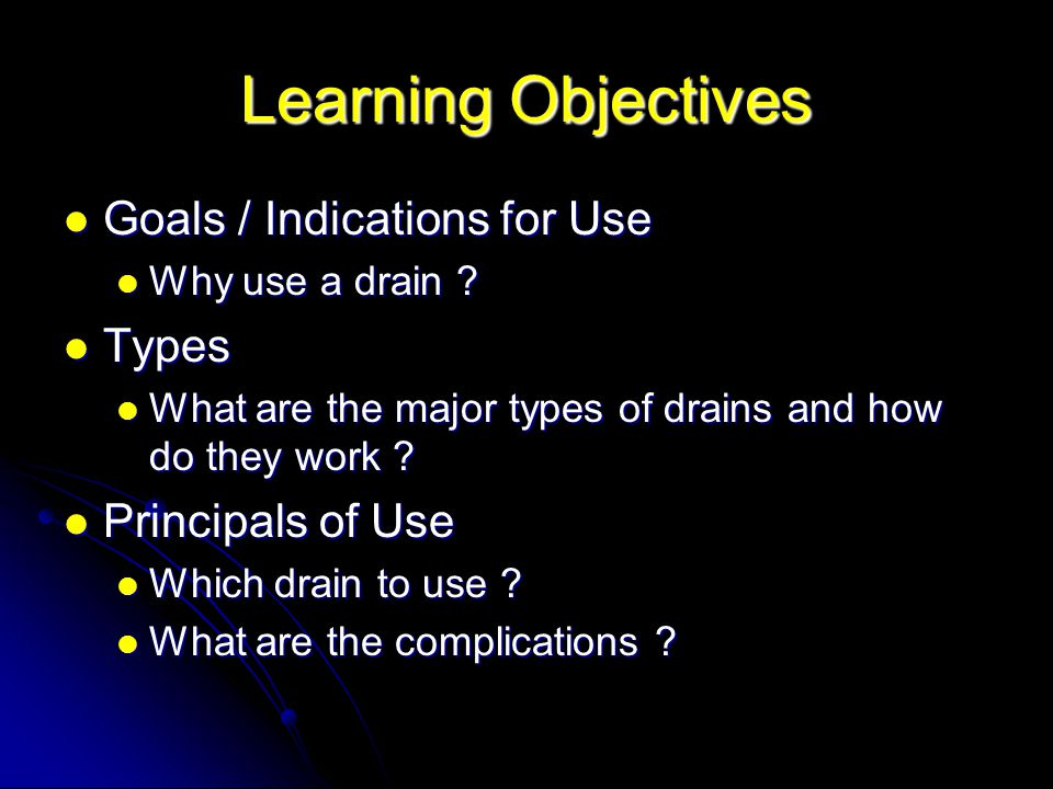 surgical drains  indications  types   u0026 principals of use