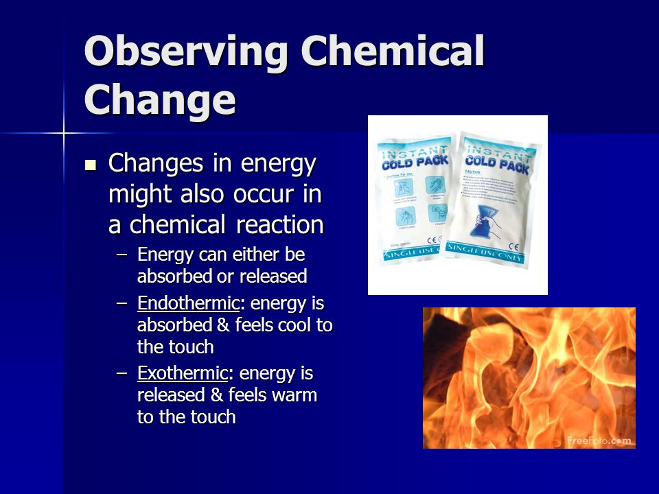 observing and deciphering chemical changes View notes - observing changes lab from science grade 9 sc at turner fenton ss observing changes hypothesis: physical and chemical changes are recognized by observing how one substance reacts to.