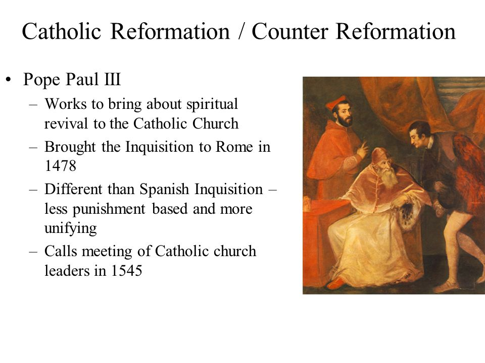 what did the catholic church do to fight back the reformation In response to the spread of the protestant reformation, the catholic church launched the counter-reformation to win back the how this affected the fight for.