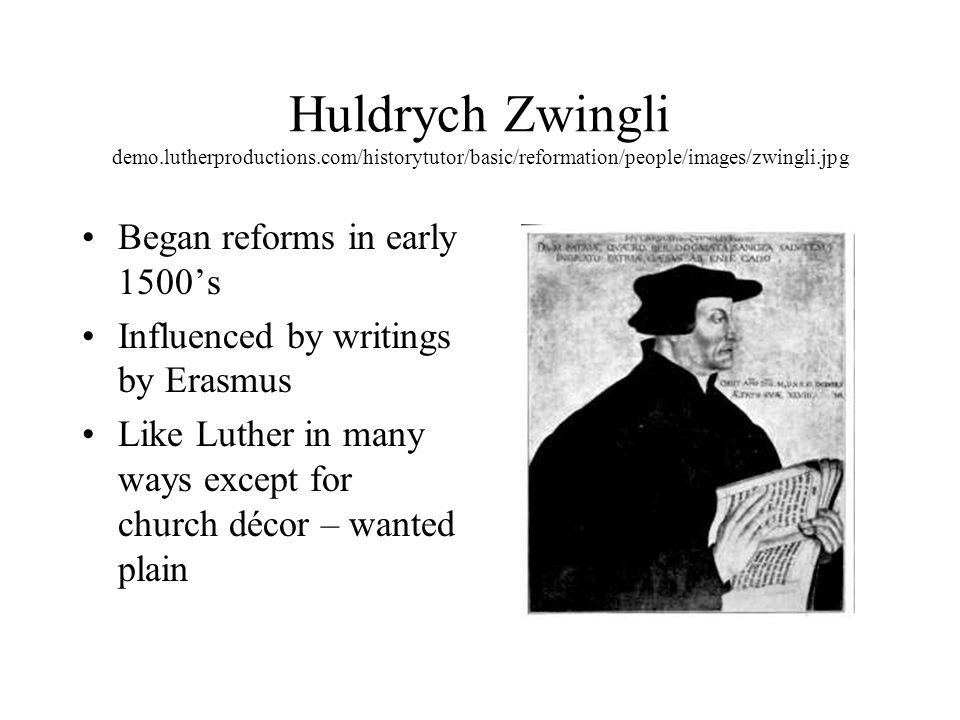 calvin and zwingli vs henry viii Huldrych zwingli or ulrich zwingli (1 january 1484 – 11 october 1531) was a  leader of the  on 6–8 november, the last debate on the subject of baptism took  place in the grossmünster grebel, manz  calvin differed with zwingli on the  eucharist and criticised him for regarding it as simply a metaphorical event in  1549.