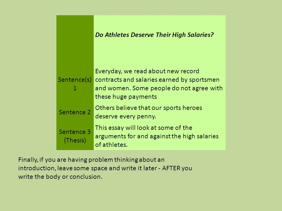 essay do athletes deserve their high salaries Get your wallet out because here are the top 10 reasons college  from high  salaries to performance bonuses, it seems that the ncaa is a very  here are the  top ten reasons why student athletes should be paid for their.