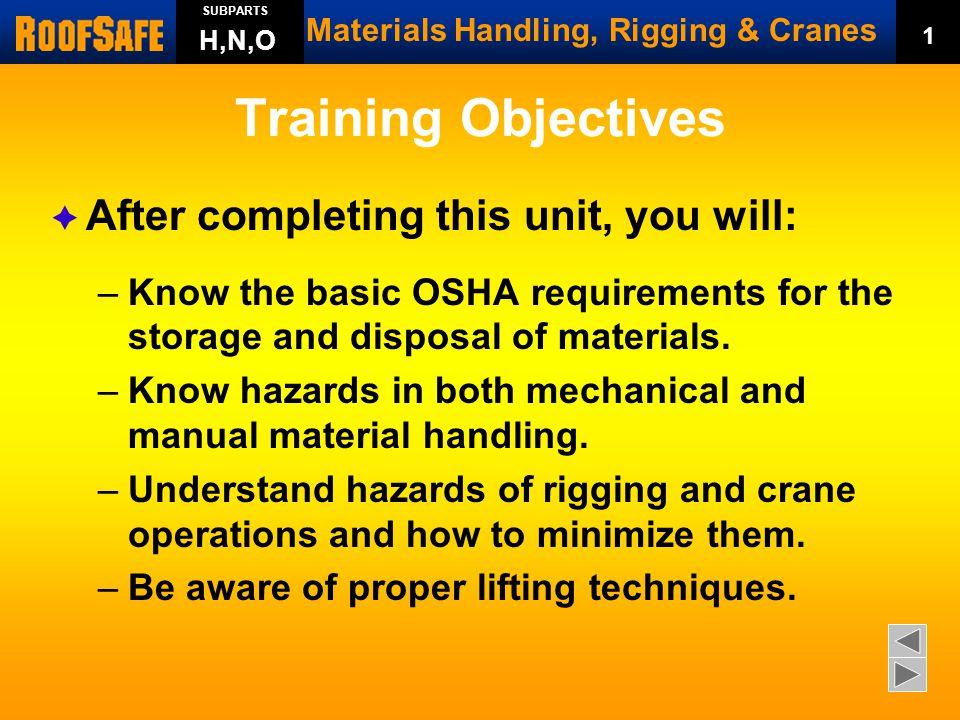 materials handling  rigging   u0026 cranes