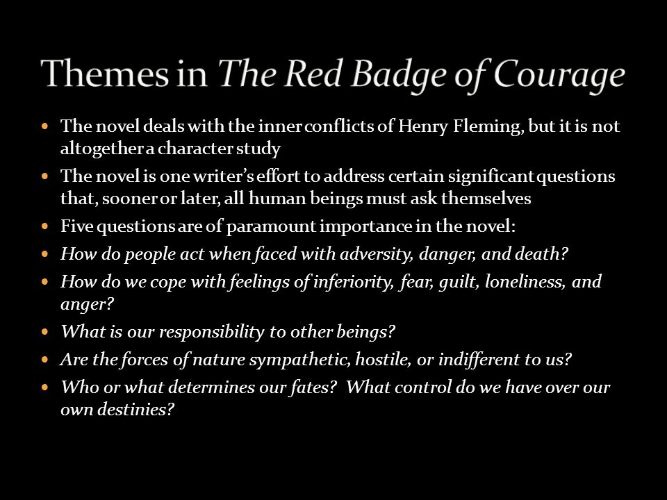 an analysis of courage Free essay on analysis of the red badge of courage available totally free at echeatcom, the largest free essay community.