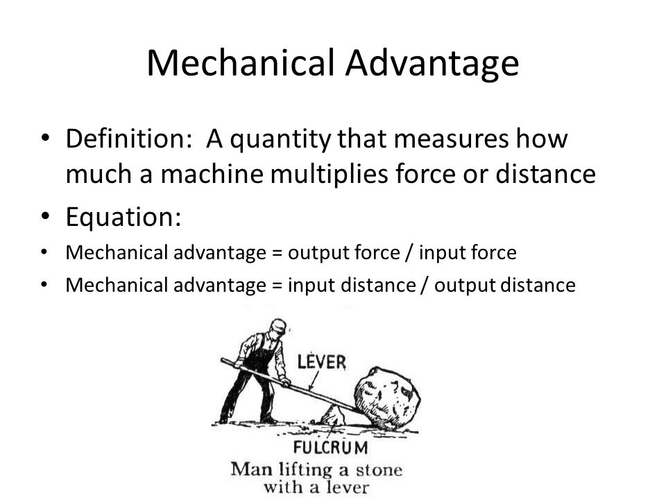 the amount by which a machine multiplies an input is called the