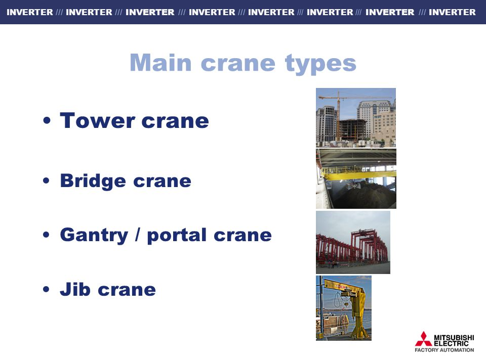 Tower Crane Advantages And Disadvantages : Mitsubishi crane solutions ppt download