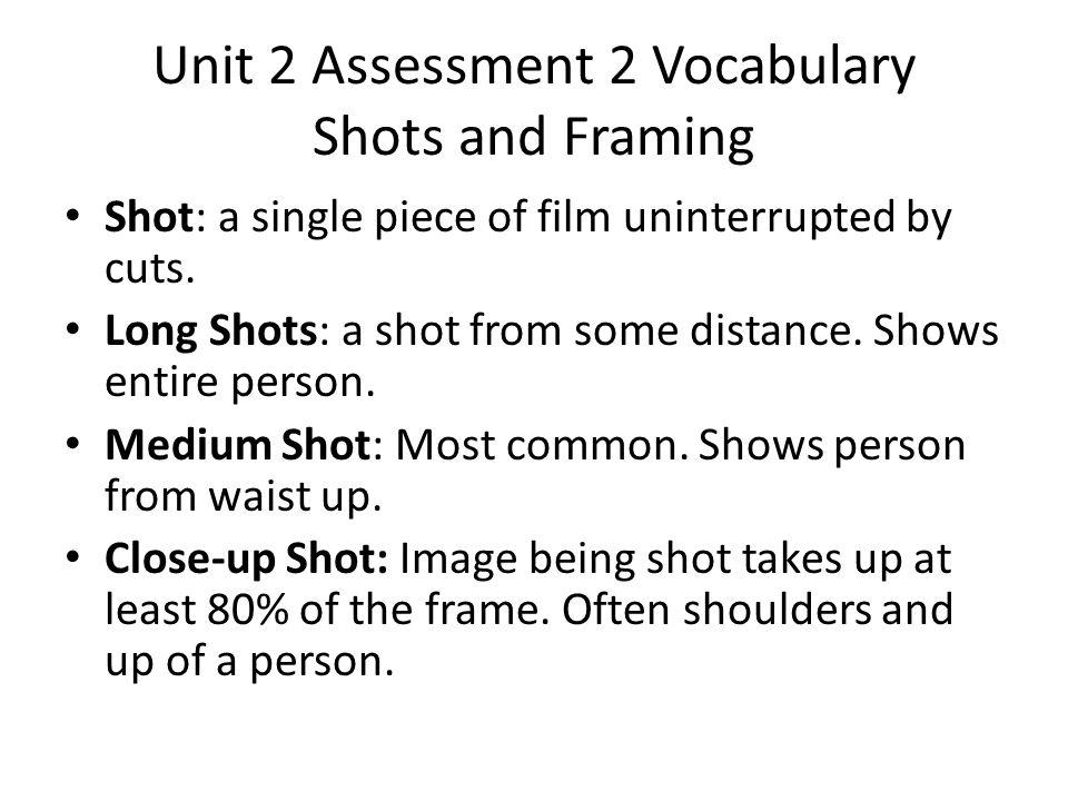 unit 2 assesment