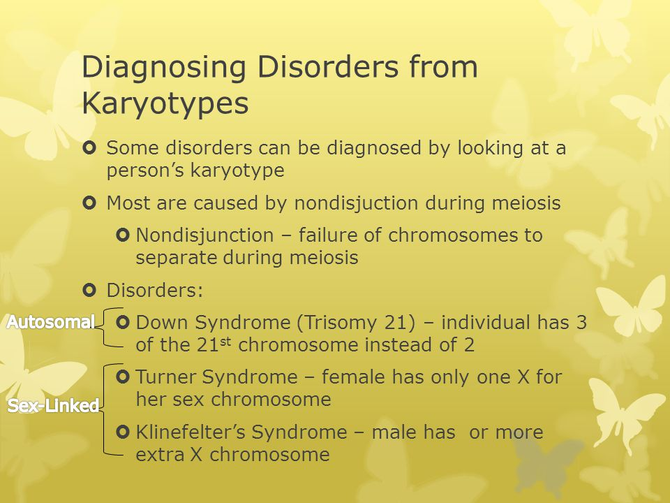 Diagnosing Disorders from Karyotypes