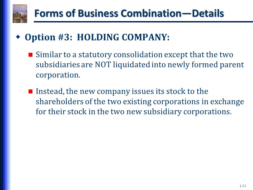 Accounting for stock options in a business combination