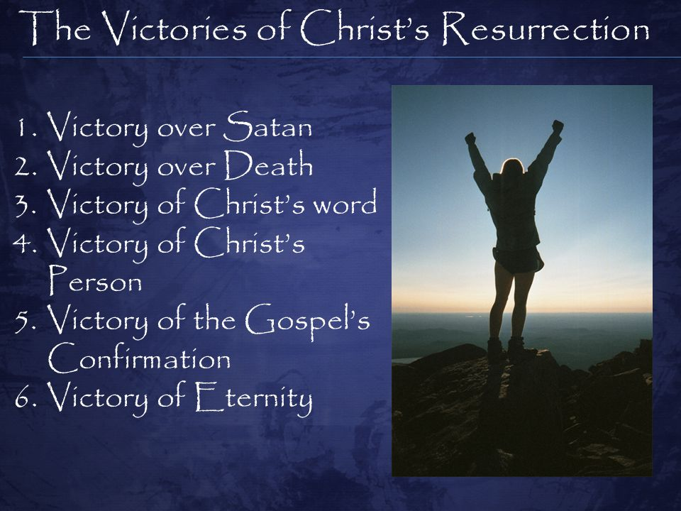 The Victories of Christ's Resurrection