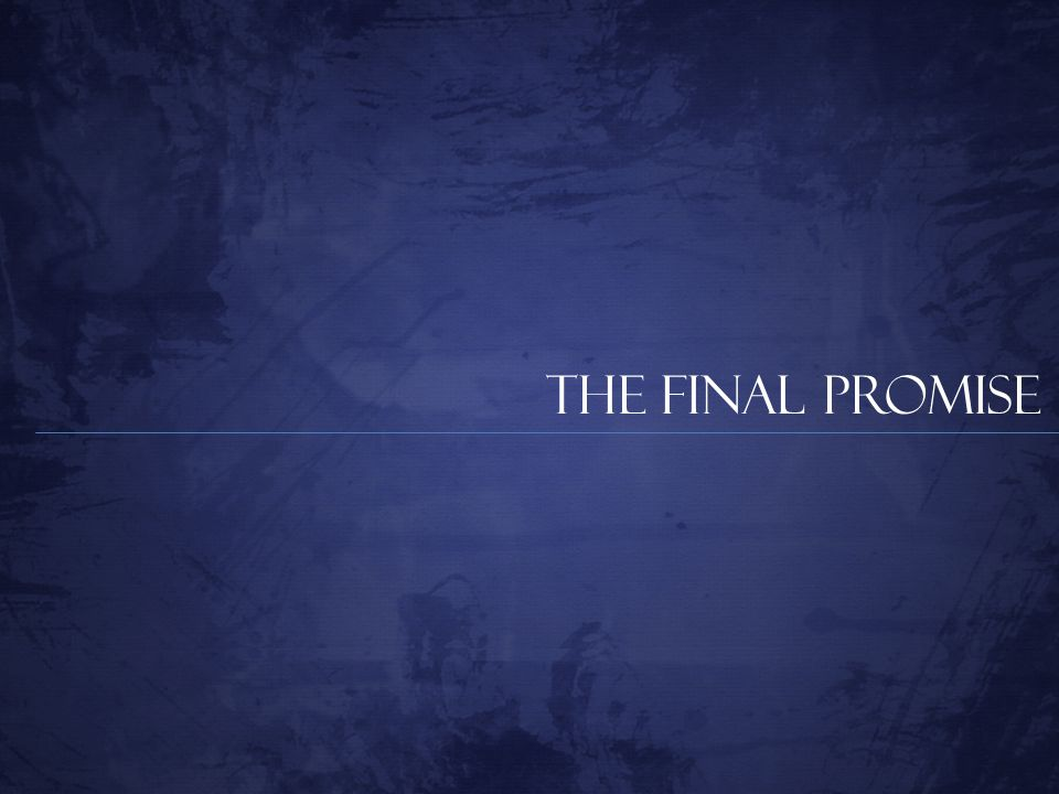 The Final Promise
