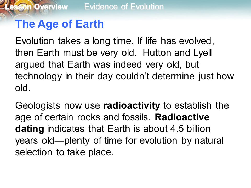 geologists use radioactive dating for which of the following