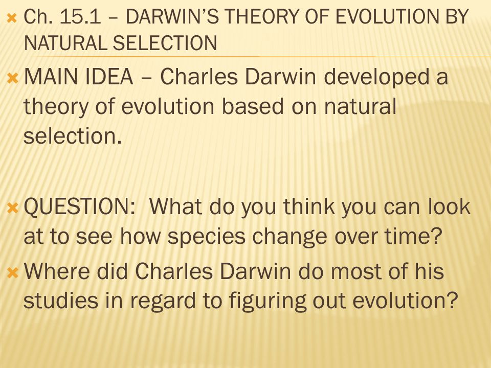 charles darwin theory of natural selection essay Charles darwin theory of evolution essay  born in this essay on charles robert darwin  anniversary of the first given voice by natural selection as darwin's.